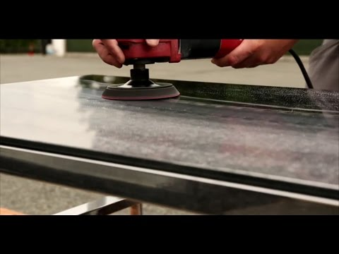 How to remove chipped edge and heavy scratches from coffee table