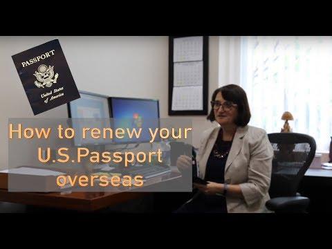 How to renew your U.S.Passport overseas?