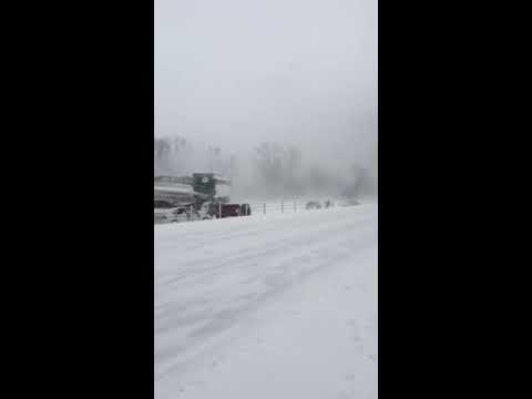 I-94 INSANE accident (150+ car pileup)