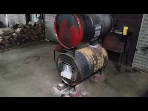55 gallon drum wood burning stove