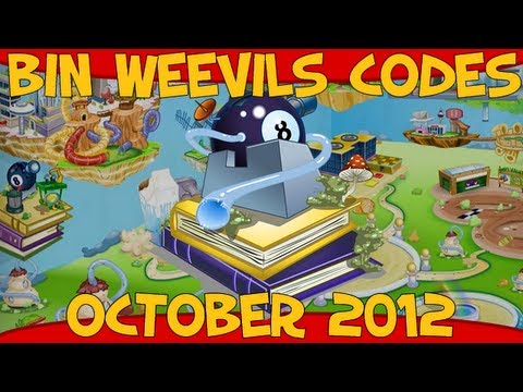 Bin Weevils - Mulch, Item, XP, Dosh and Seed Codes October 2012