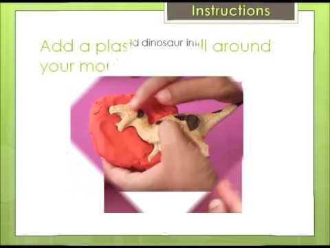 2e Art Video How to make a dinosaur fossil