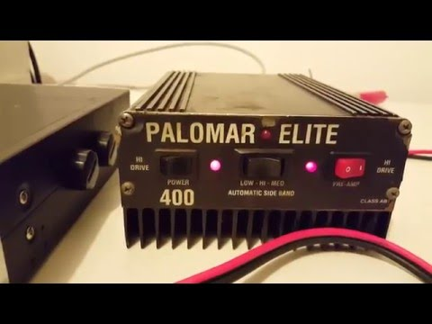Palomar Elite 400 Mobile Linear Amplifier