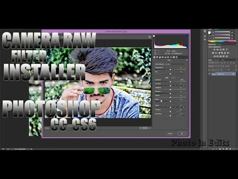 How to Download & Install Camera Raw 9.12 Latest Version In Photoshop cs6 & cc