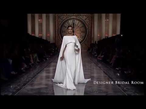 Atelier Pronovias 2016 Bridal Collection - Flowy Silk Crepe Wedding Dress