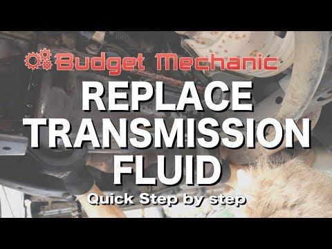 Replace Toyota Transmission fluid & filter -  4Runner Land Cruiser FJ Tacoma Fortuner