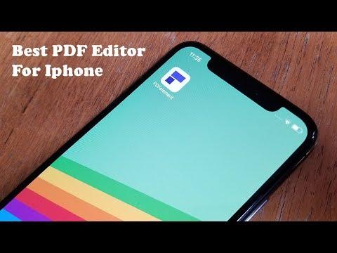 Best PDF Editor For Iphone X / 8 / 8 Plus / 7 PDFelement - Fliptroniks.com