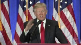 Trump: Intelligence leaks