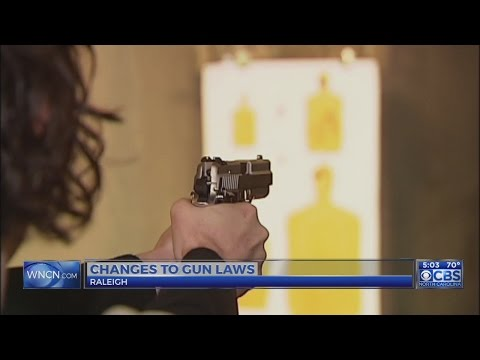Permitless concealed carry bill passes NC House, heads to Senate