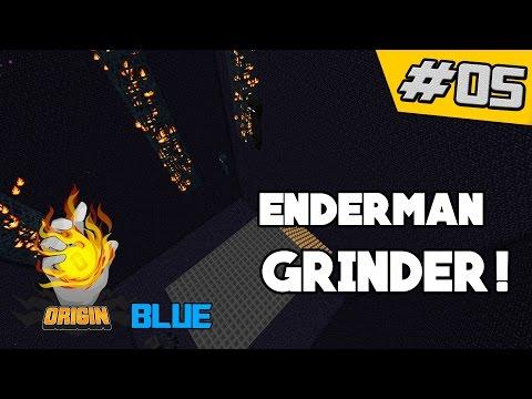 Enderman Grinder!! | OriginMC Blue #5 (Minecraft Factions)
