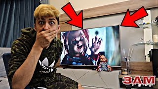 DO NOT WATCH CHUCKY DOLL MOVIE AT 3AM!! *OMG HE CAME TO MY HOUSE*