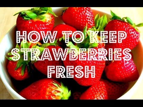 How to Keep Strawberries Fresh Using White Vinegar