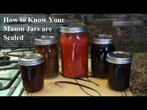 How to Make Sure Your Mason Jars Are Sealed | Useful Knowledge