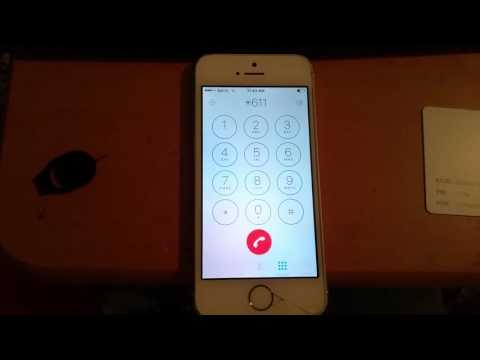Sprint iPhone 5s fully flashed to Boost Mobile w/ Bad Esn