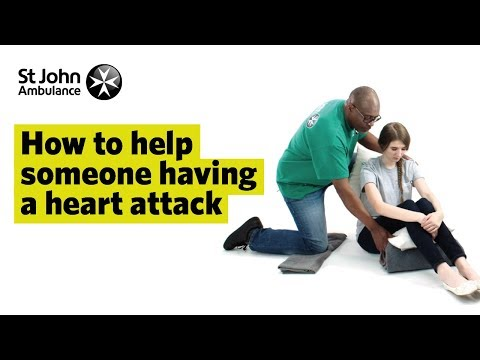 Heart Attack Symptoms & How to Treat a Heart Attack - First Aid Training - St John Ambulance