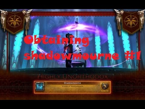 Obtaining shadowmourne #1 - The Sacred and the Corrupt ( ICC legendary quest line guide)