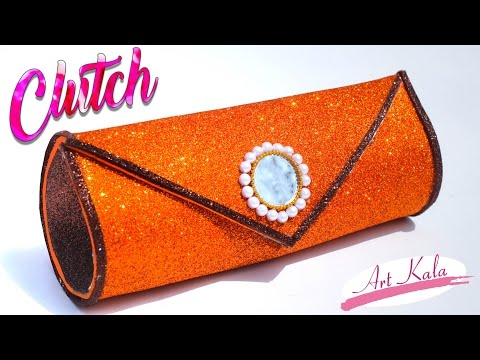How to make clutch at home | handbags for women | step by step making | DIY | Artkala 151
