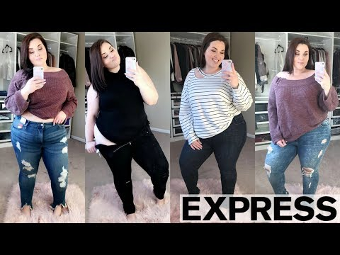 WILL IT FIT?! Express Try-On Haul