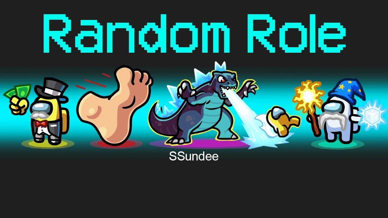 RANDOM ROLES Mod in Among Us