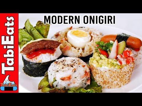5 NEW TYPES of ONIGIRI (Western Style -Japanese Rice Ball Recipes)