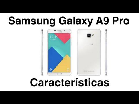 Samsung Galaxy A9 Pro Características