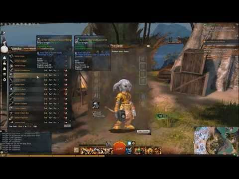 Guild Wars 2: Southsun Merchant Settler Weapons and Armor