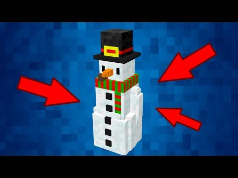 HOW to Spawn FROSTY THE SNOWMAN in MINECRAFT PE - Minecraft Bedrock Engine (MCPE) *not clickbait*