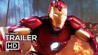 AVENGERS Official Trailer (2020) Marvel, Superhero Game HD