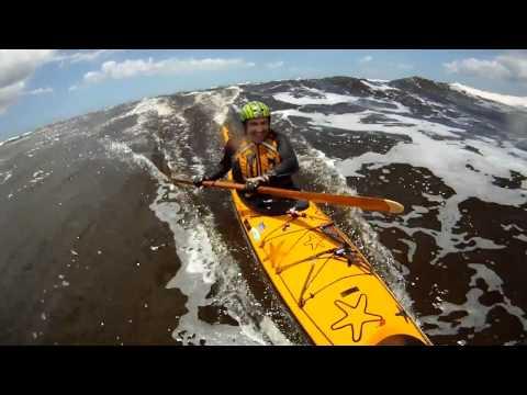 Surfing with Sea Bird Designs Northsea in Australia