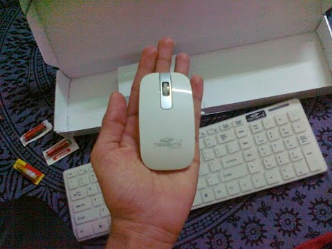 Unboxing My New Terabyte Wireless Keyboard Mouse (Review & Test) HD