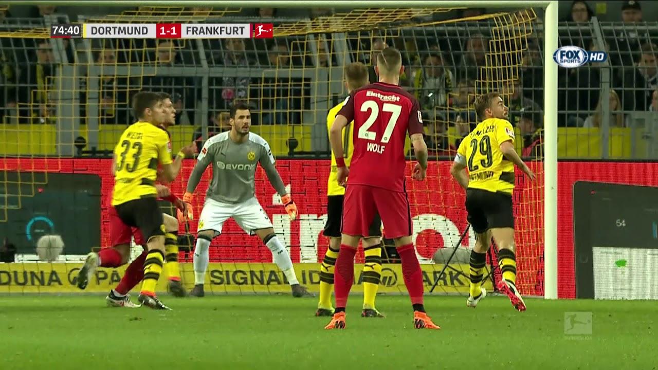 [Bundesliga] Borussia Dortmund vs Eintracht Francoforte 3-2  Gol e highlights - 11/03/18