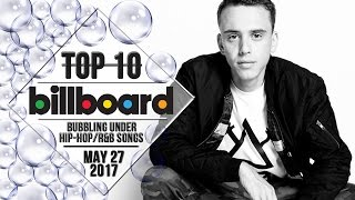 Top 10 • US Bubbling Under Hip-Hop/R&B Songs • May 27, 2017   Billboard-Charts