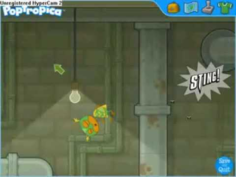 POPTROPICA HOW TO BEAT RATMAN!