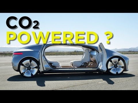 Cars Powered by Carbon Dioxide CO2 !