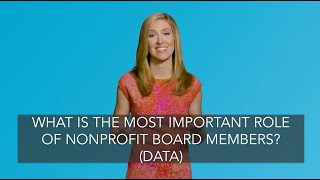 What Is The Most Important Role Of Nonprofit Board Members? (STUDY)