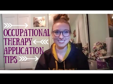 Best Occupational Therapy Application Tips