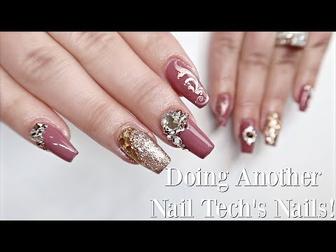 The WORST Nail Client EVER! | Rose Gold Nail Art