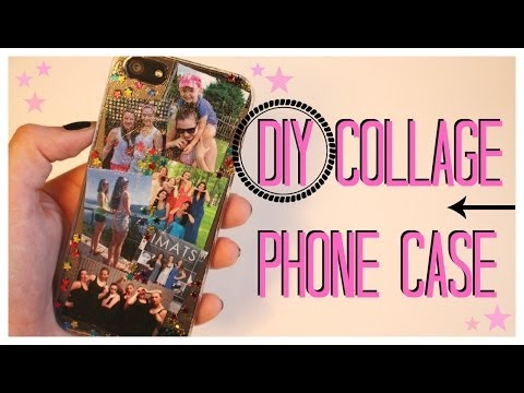 DIY Collage Phone Case! ♡