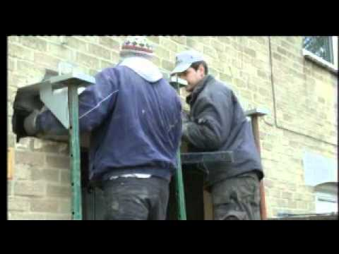 Removal of Heavy Concrete Lintel - Speeded Up (3X)