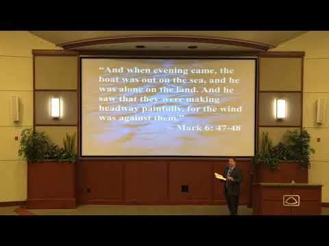 Jason Little shares message at April preaching series