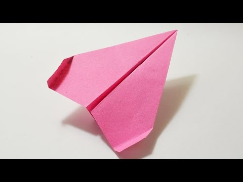 How to make a Paper Airplane - Best PAPER PLANE in the World - AIRPLANE that Fly Far