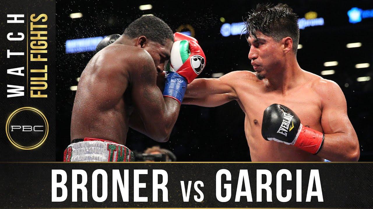 Broner vs Garcia FULL FIGHT: July 29, 2017 - PBC on Showtime
