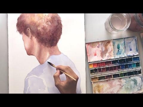 untitled - watercolor portrait