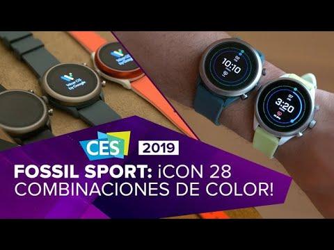 El Fossil Sport es el reloj más colorido de la casual marca de moda