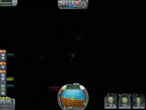 Rendezvous and Rescue of a Stranded Capsule In Kerbal Space Program