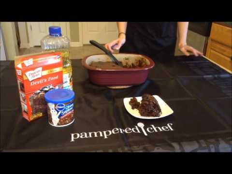 Amy Pampered chef, Lava Cake!