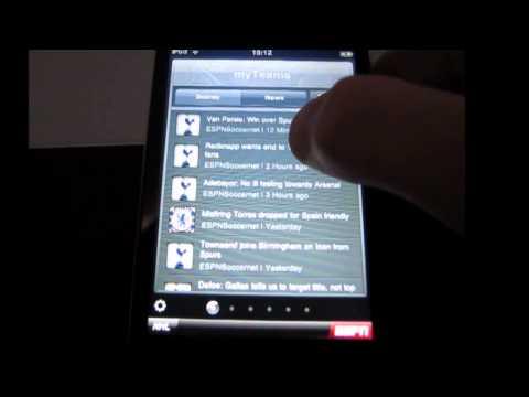 App Review 13 ESPN Scorecenter