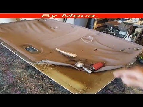 How to repair Ford Bronco headliner and sun visors  DIY.