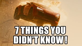 7 Things You Didn't Know About Furious 7 - Fast & Furious 7