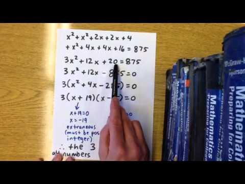 Quadratic zeros